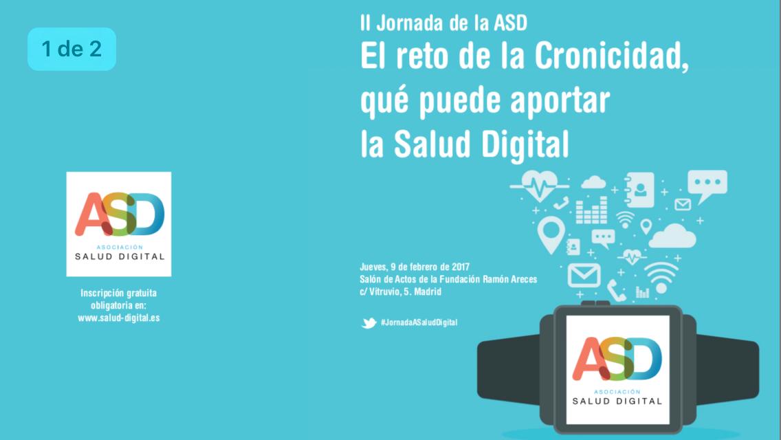 El reto de la Cronicidad, qué puede aportar la Salud Digital