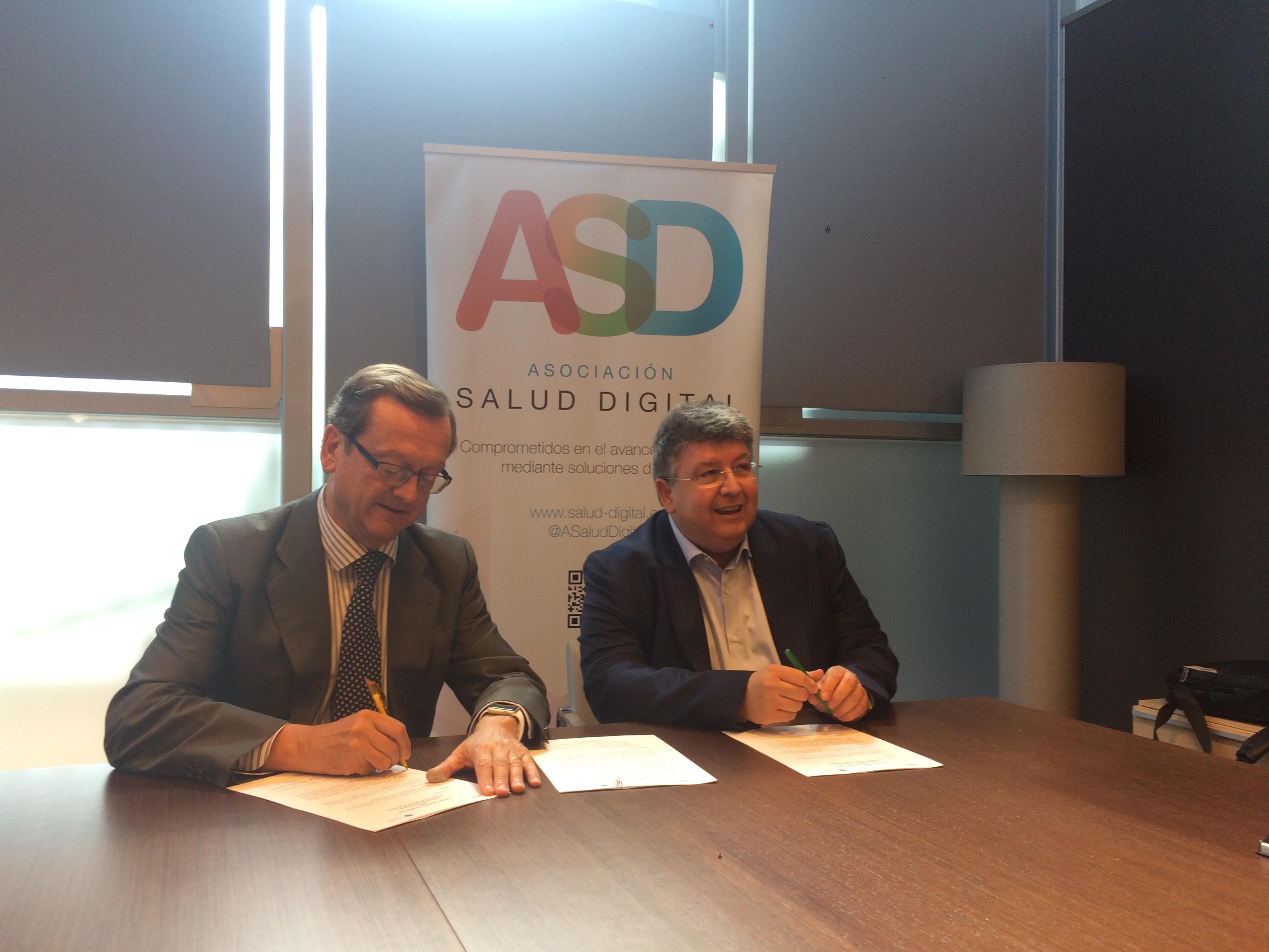 La ASD y la Societat Catalana de Salut Digital firman un convenio