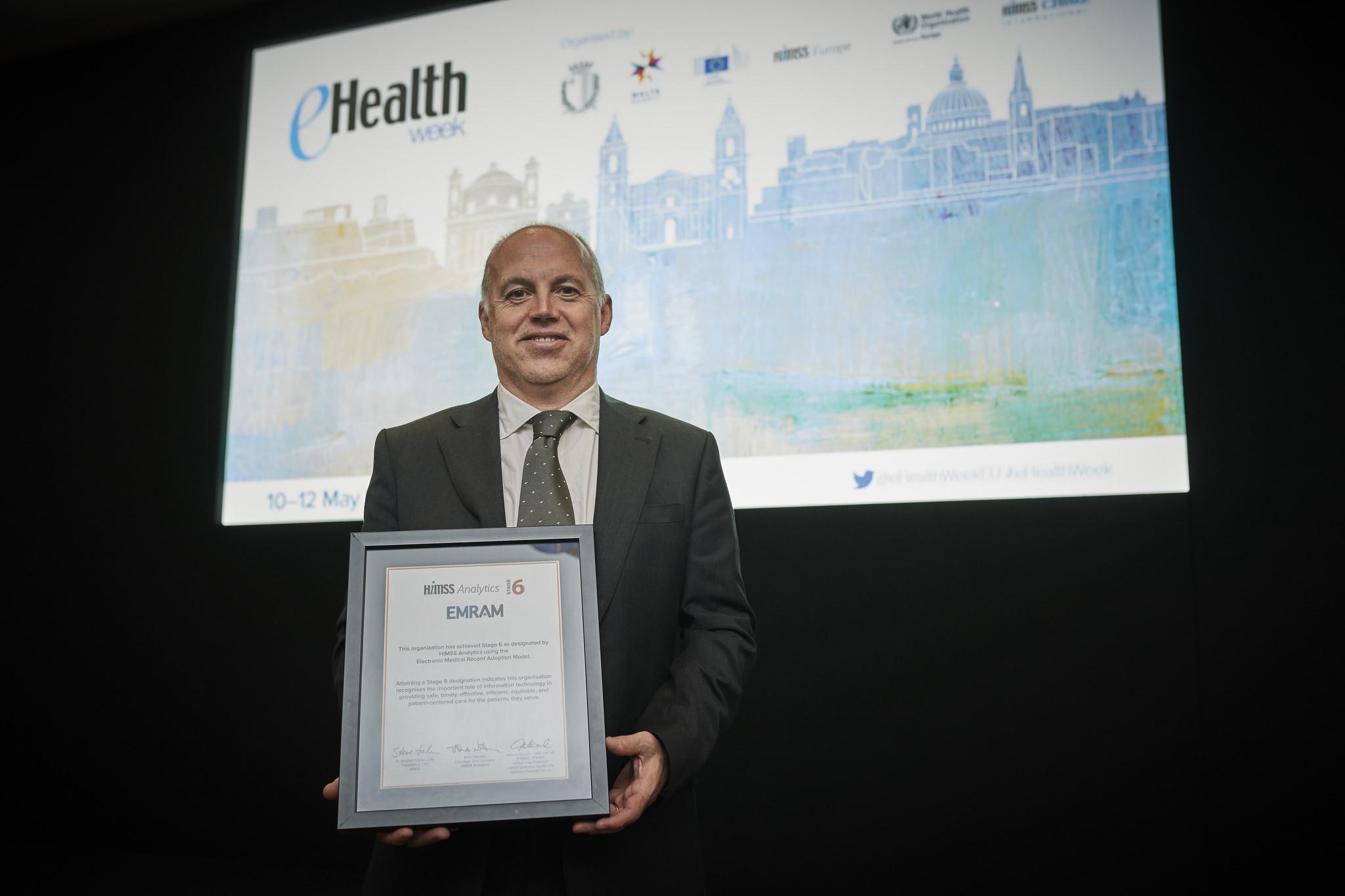 El Hospital Universitario Donostia galardonado con el nivel 6 de HIMSS