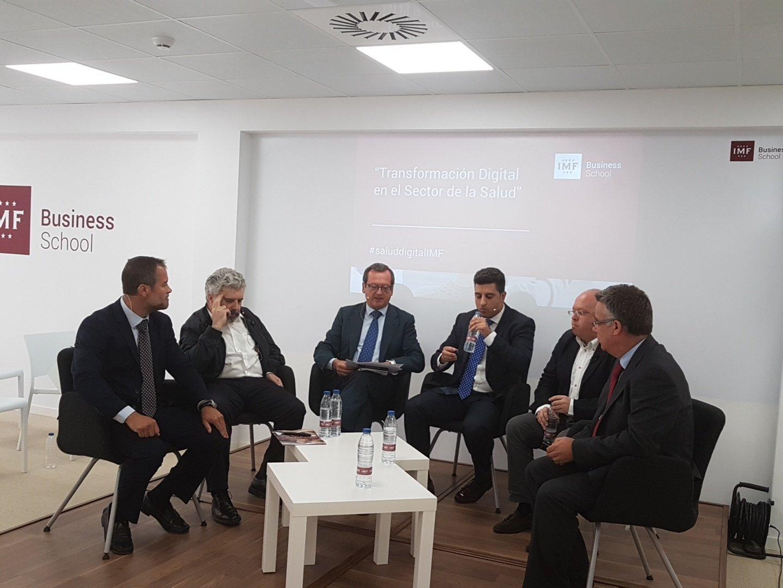 Presentación del Máster en Salud Digital en la IMF Business School