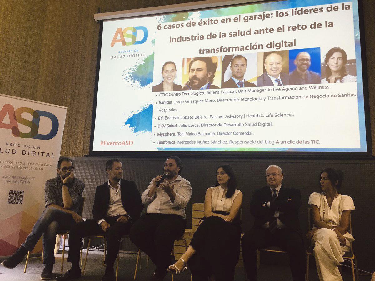 transformación digital en salud IV encuentro ASD